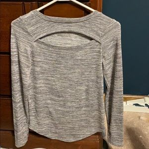 Long sleeve Juicy Couture cutout top